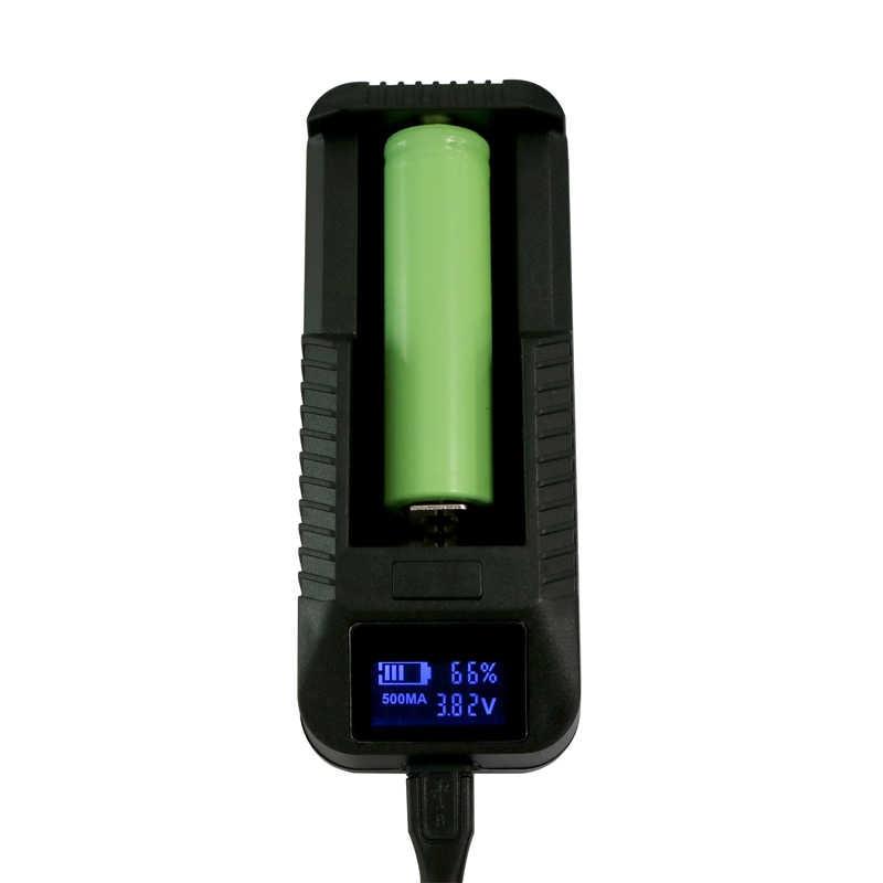 ذكي شاحن بطارية ليثيوم شاحن البطارية مع شاشة lcd ل 26650 18650 14500 lcd مؤشر طاقة البطارية وقت