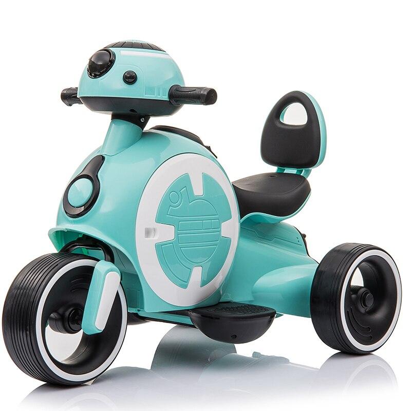 Дети Ясельного возраста ездить на машинках Электрический трехколесный велосипед для детей девочек мальчиков 1-2-3-5 лет Музыка Свет ранее Обу...