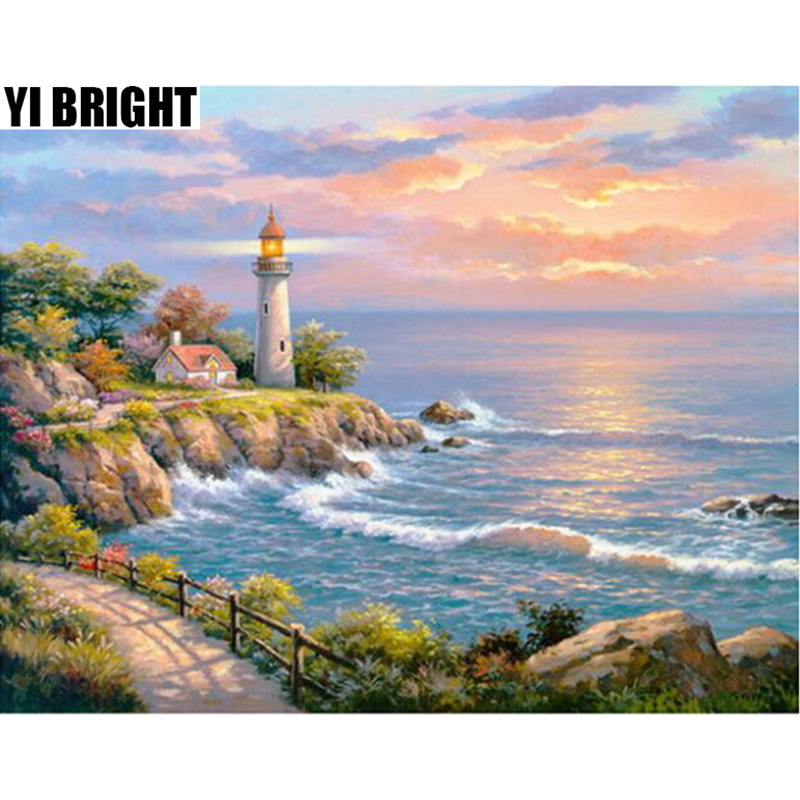 YI BRIGHT DIY 3D Diamond Embroidery,Cross Stitch,Painting
