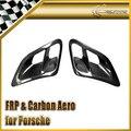 Carro-styling Para Porsche 2007-2010 997 Turbo & GT2 Turbo Fibra De Carbono Lado Colheres De Admissão De Ar