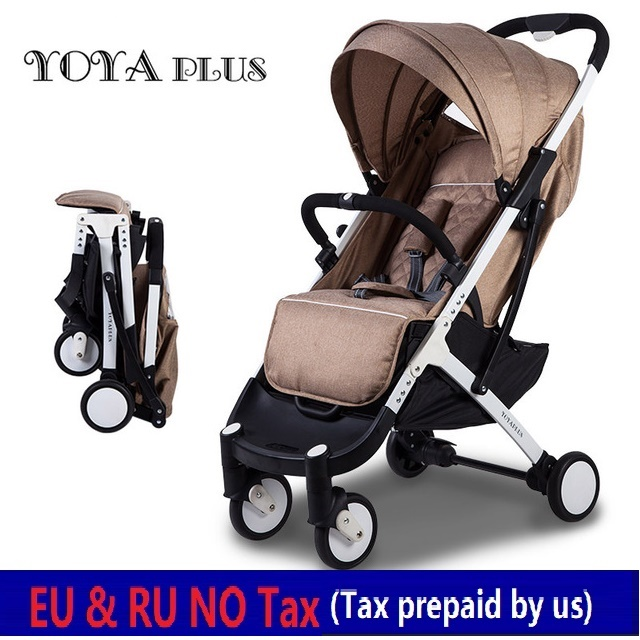 EU NO TAX YOYA PLUS 2018 baby strollers foldable lying or sitting stollers bebek arabasi kinderwagen