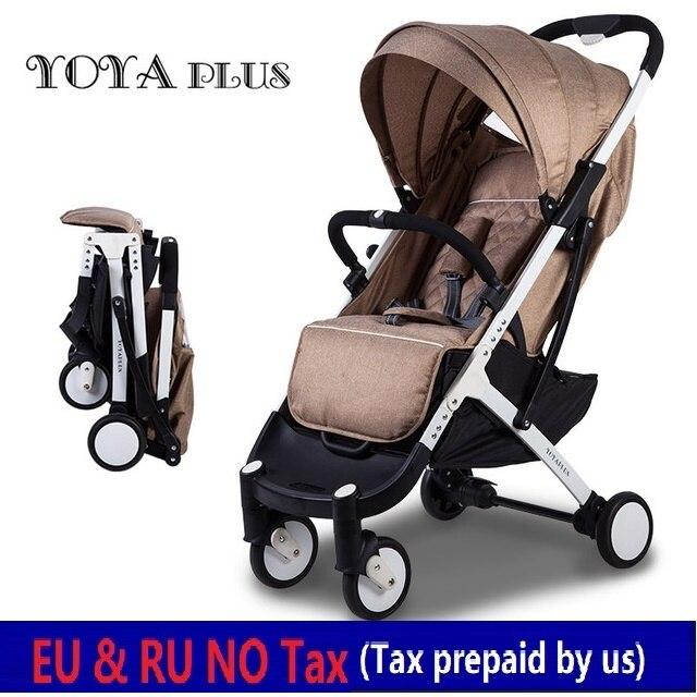L'UE AUCUN IMPÔT YOYA PLUS 2018 bébé poussettes pliable couché ou assis poussettes bebek arabasi kinderwagen ultra-léger poussettes