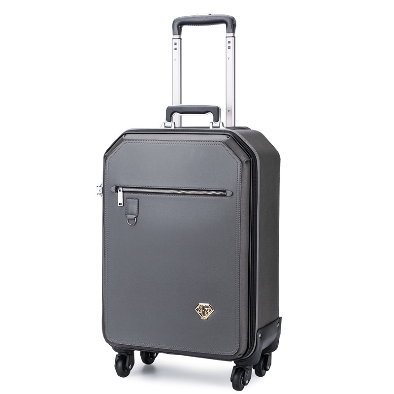 Business Rolling Luggage personalit Wheel Suitcases Trolley Spinner 16 inch Women Cabin password Travel Bag black travel bag spinner suitcases wheel trolley business rolling luggage large capacity carry on cabin luggage backpack
