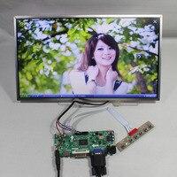 Hdmi vga dvi 오디오 lcd 컨트롤러 보드 m. nt68676 + 15.6
