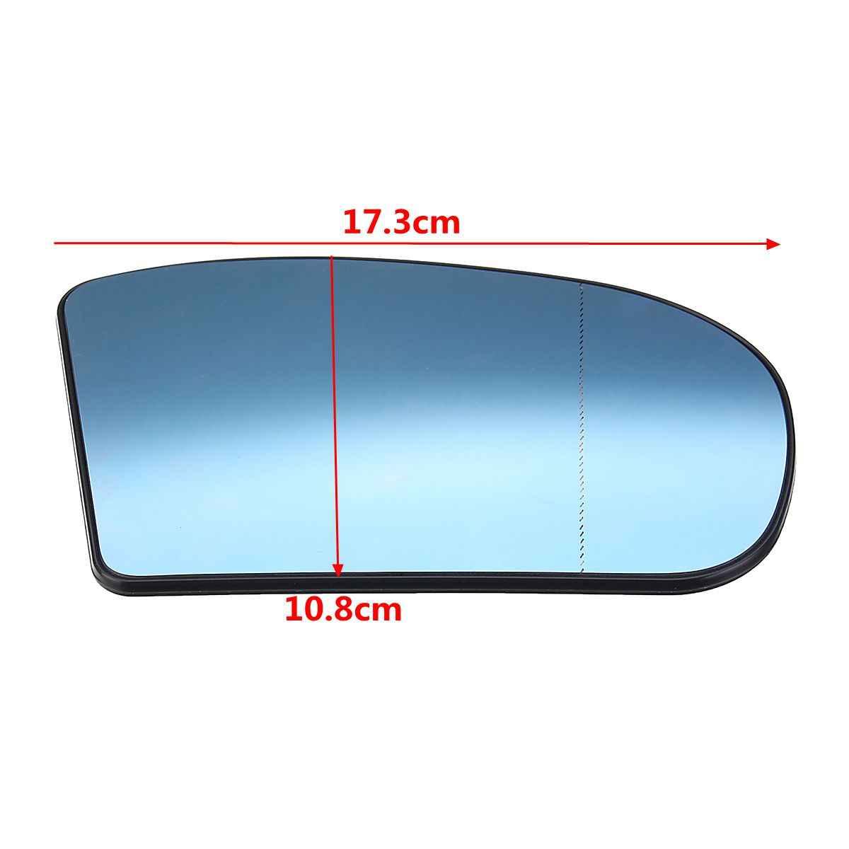 Vidrio pulido espejo exterior de vidrio derecha azul asphärisch c e s w202 w210