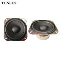TONLEN 2PCS 4 Inch Full Range Speaker 8 Ohm 10 W Portable Bluetooth Speaker Loudspeaker DIY
