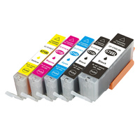 Compatible for Ink Cartridges PGI 670XL CLI 671XL for Canon Pixma MG5760/5765/5766/6860/6865 printer