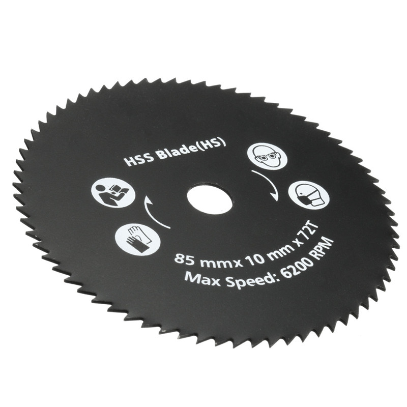 El más nuevo 1PC 85mm 72T HSS Hoja de sierra circular Disco de corte - Hojas de sierra - foto 4