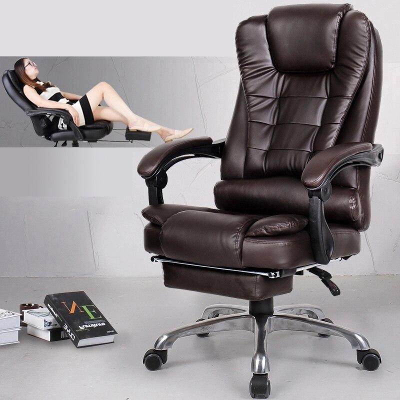 Sonderangebot bürostuhl computer chef stuhl ergonomischer stuhl mit fußstütze