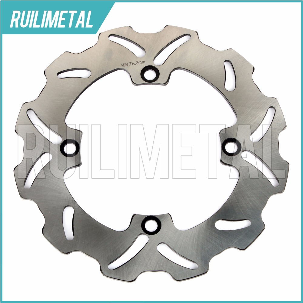 Rear Brake Disc Rotor for HONDA CR 125 250 R E SUPERMOTARD HM CR250R 1997 1998 1999 2000 2001 97 98 99 00 01 kingsun rear adjustable ball joint camber control suspension arm kit for 1990 1997 honda accord acura cl tl1996 1999 blue
