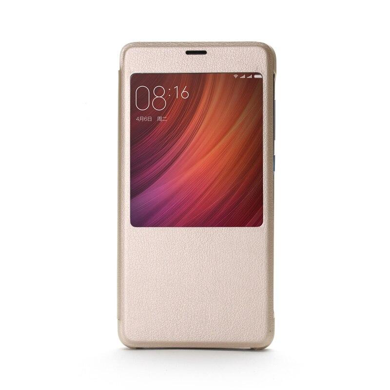 """Цена за Оригинал Xiaomi Redmi Pro Случае 5.5 """"флип Смарт-Дисплей Кожаный Чехол Для Xiaomi Hongmi pro Redmi Pro Защитный Чехол"""