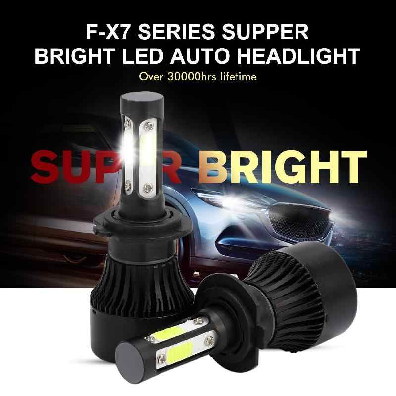 Auxmart LED H7 H1 Bulb for Kia Sorento Optima Carnival LED Car Headlight 100W 10000lm 6500K LED H 7 Lamp for Kia SAIBON Forte