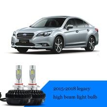 lsrtw2017 LED car headlight high beam low lights bulb for subaru legacy 2010 2011 2012 2013 2014 2015 2016 2017 2018 2019
