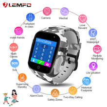 Smart watch 2019 hot sales Smart Watch Kids GPS WiFi 600Mah Battery Baby IP67 Waterproof SOS for Children dropshipping(China)