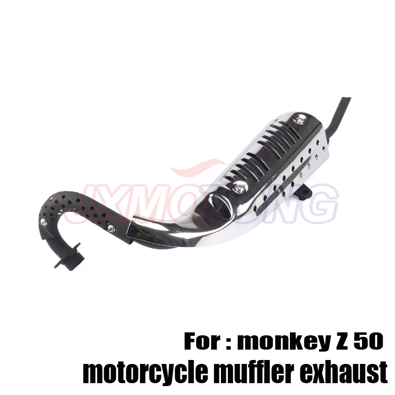 Brandnew motorcycle muffler exhaust pipe for z50 z 50 monkey bikes parts z 50 z 50