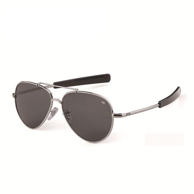 Aviation Sunglasses Men women 2019 American Army Military Optical AO Sun Glasses pilot glass shades 8057 Oculos de sol masculino