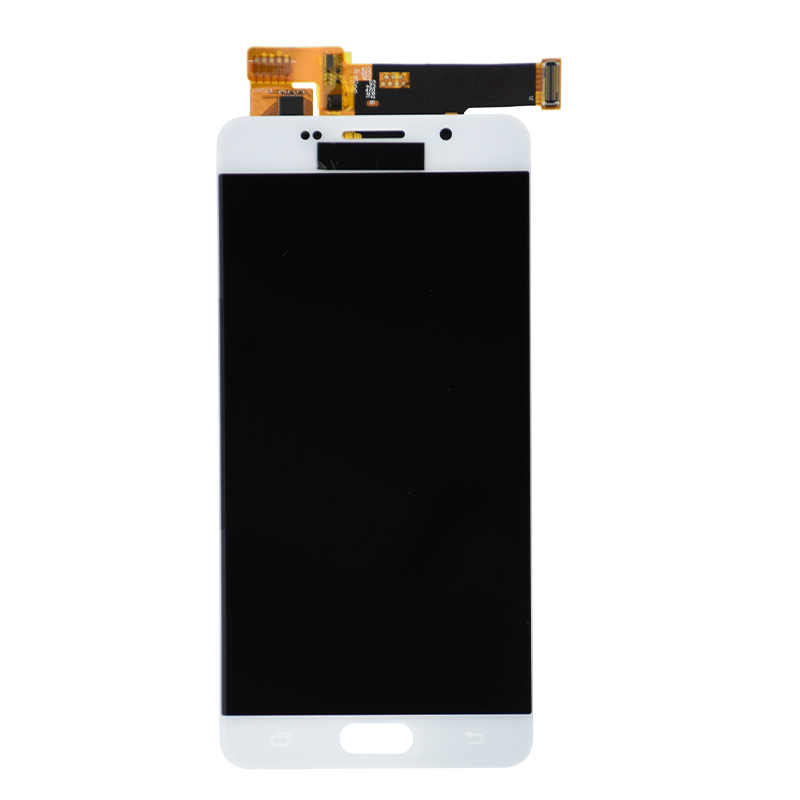 جديد شاشات LCD لسامسونج غالاكسي A5 2016 شاشة الكريستال السائل A510 A510F A510M SM-A510F اللمس شاشة Pantalla التحويل الرقمي LCD استبدال ضبط