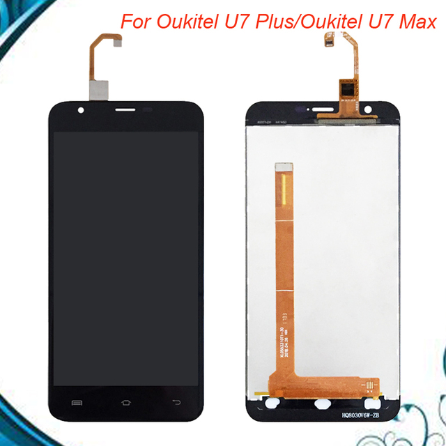 For Oukitel U7 Max LCD Screen With Touch Screen Display For Oukitel U7 Plus Digitzer Assembly IN STOCK