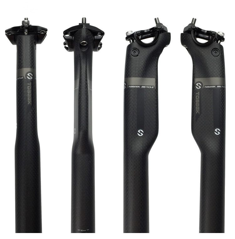 Hot bicycle seat post 27.2 seatpost toray T800 carbon accessories