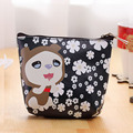 DreamShining Women Coin Purse Bag Wallet Cute Cartoon Flower Design Money Handbag Zipper PU Leather Coin bags Card Holders
