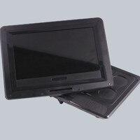 Marka Yeni DVD, VCD Oynatıcılar Ile 9.8 Inç Taşınabilir DVD Oynatıcı Analog TV USB Kart Okuyucu Radyo Oyunlar Döner Araba küçük TV Player
