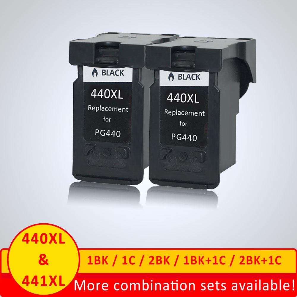 Xiangyu Black PG440 XL PG 440 PG 440 Refilled Ink font b Cartridge b font for
