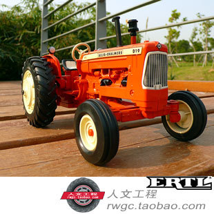 AC D-19 farm tractor alloy car model toy New Year gift An Act ERTL 1:16 Specials knl hobby j deere 720 farm tractor alloy car models us ertl 1 16 special clearance