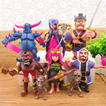 COC figures 12cm Supercell phone game model Dolls clash royale action figure 8pcs/lot