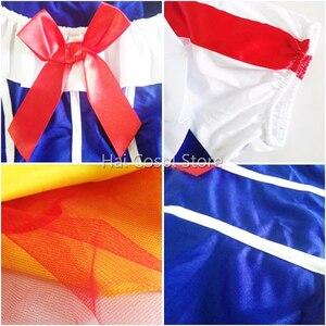 Image 3 - Женский костюм Белоснежки для взрослых, карнавальное платье для Хэллоуина, сказочное женское платье размера плюс, праздничная одежда