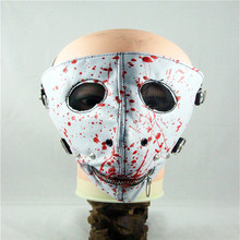 10pcs/Pack European And American Style New Personality Zipper oil Fashion Mask Punk Rock Trend Masks Crash Nail Mask