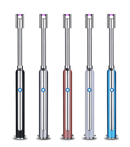 Image 3 - Electronic Kitchen Lighter BBQ Ignition Arc USB Lighter Rechargeable Cigarette Flexible Plasma Pulse Gas Stoves Thunder Lighter