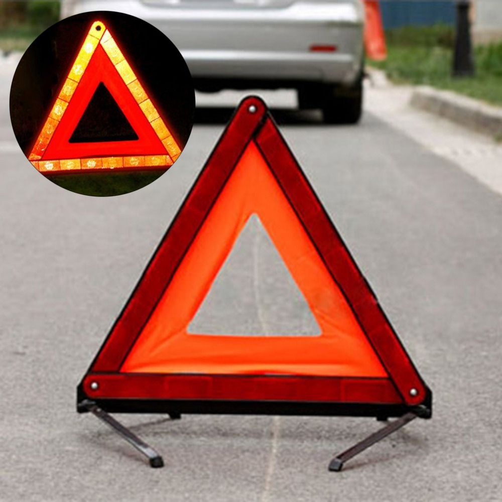 Outdoor Vehicle Safety Setting Car Triangle Emergency Warning Sign First-aid Kit Tire Repairing Tools Professional Tools Hot