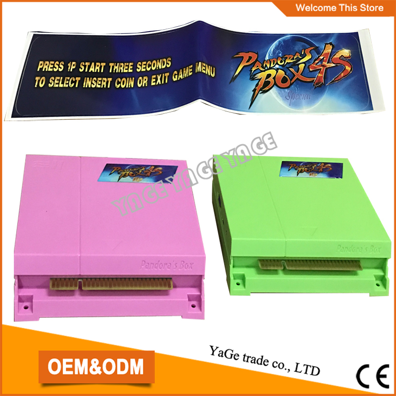 ФОТО The New Upgraded  680 in 1 multi game board ,Just Another Pandora's Box 4S HD VGA output jamma game PCB for Arcade Cabinet