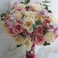 Noiva Свадебный Букет для Невесты Цветы Букет Buque де Mariage Искусственные Свадебные Букеты