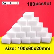 Melamine Sponge Eraser Bathroom Kitchen 100pcs/Lot for Office