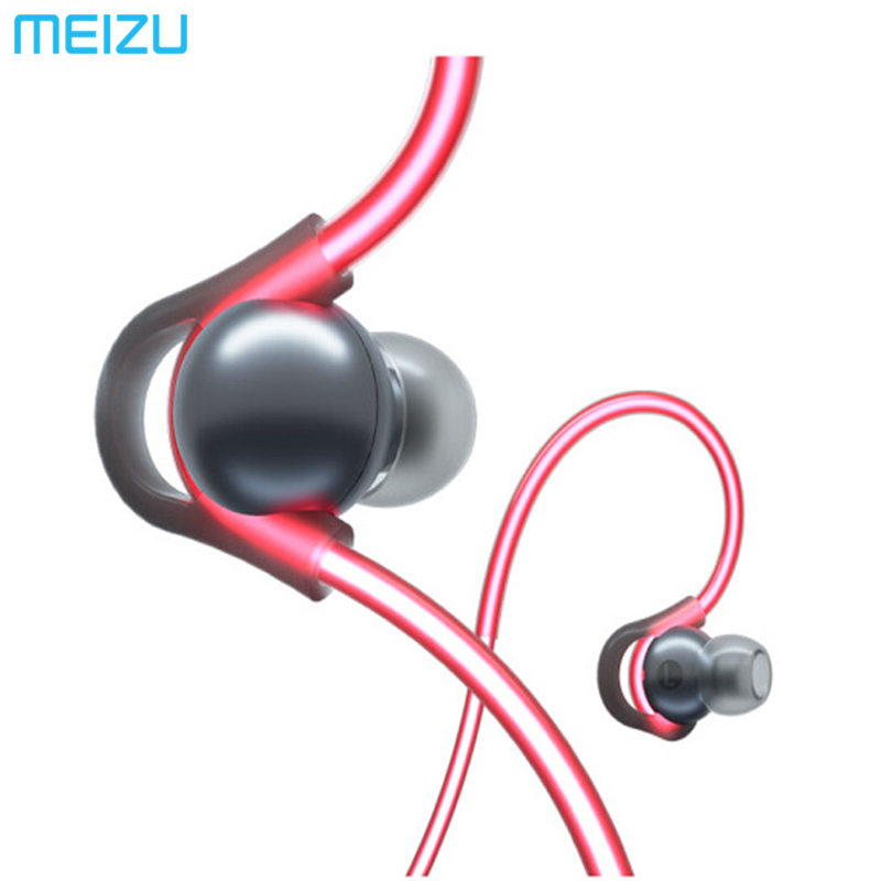 Meizu HALO Laser flash Bluetooth Headset In Ear Sports Running Earphone with mic Earbuds magnetic for appple android-in Bluetooth Earphones & Headphones from Consumer Electronics    1