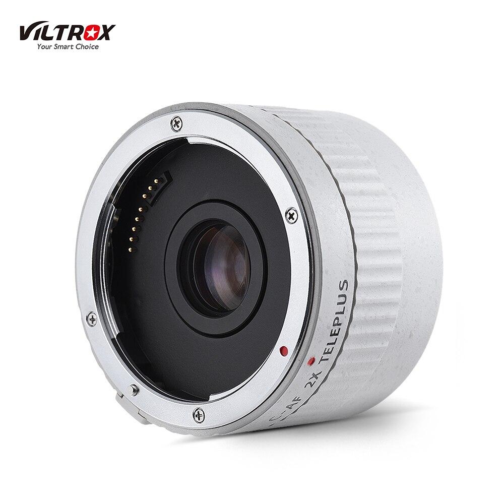 VILTROX C-AF 2XII AF Auto Focus téléconvertisseur lentille Extender grossissement objectifs de caméra pour Canon EF monture objectif appareil photo reflex numérique