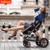 Belecoo bella cochecito de bebé carretilla niño coche de bebé luz
