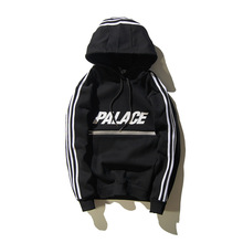 2016 reflektierende Baumwolle Männer Schwitzen shirts Kostüm Brief thrasher hoodies palace trasher hip hop assassins creed