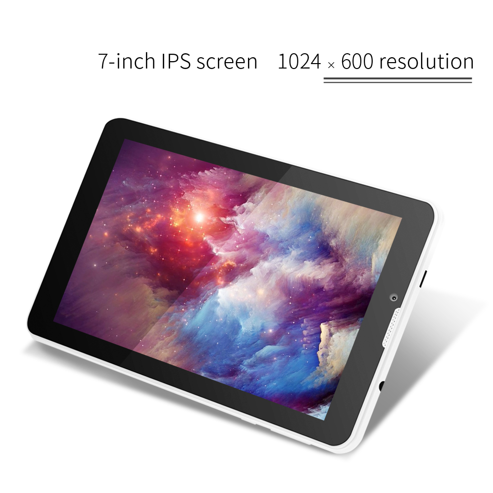 Hot 3g Phablet Yuntab 7 Inch E706 Tablet PC 1GB+8GB Android5.1 Quad Core IPS 1024*600 With Dual Camera GPS Bluetooth 7 8 10 10.1