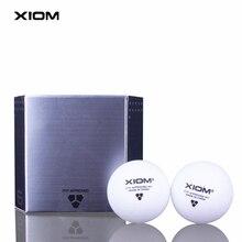 XIOM оригинальные шарики для настольного тенниса 3 звезды 40+ бесшовный материал пластик поли ITTF одобренный мяч для пинг-понга