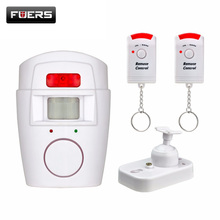 Fuers PIR Alert Infrared Sensor Anti-theft Motion Detector Wireless Alarm system Home Security System Remote Control