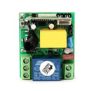 Image 5 - AC 220V 10A 1CH RF 315MHz Interruttore di Telecomando Senza Fili Modulo Ricevitore + Trasmettitore Kit Per Casa Intelligente