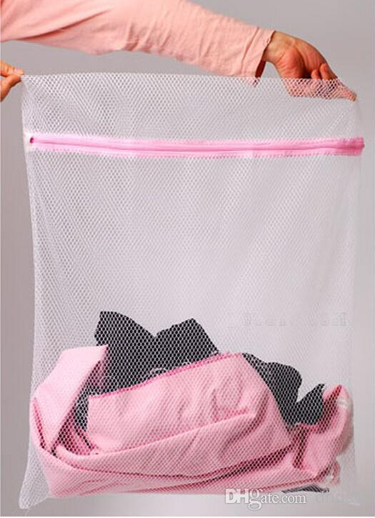 30*40cm Washing Machine Specialized Underwear Washing Bag Mesh Bag Bra Washing Care Laundry Bag