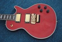 human Free shipping LPguitar electric guitar floyed rose one piece neck and body