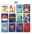 Pocket Monster Pokemon Go Game PU Leather Stand Case with Auto Sleep Wake Function for Apple iPad Mini 1 2 3 Case Cover Shell