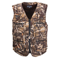 Men's Clothing With Many Pockets Casual Camouflage Cotton Men Vest Regular Plus Large Size 5XL Vest Men Zipper Multi-pockets