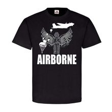 AIRBORNE St Michael Erzengel Schutzpatron Paratrooper #24205 Harajuku Tops Fashion Classic Unique t-Shirt gift free shipping цена