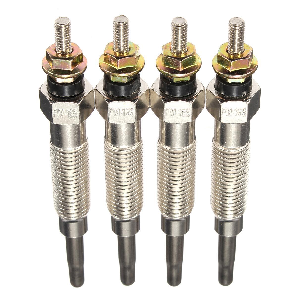 4 bougies de préchauffage de chauffage de pièces/ensemble pour Mitsubishi/SHOGUN/PAJERO/2.8/4M40T/4M40/GP5501