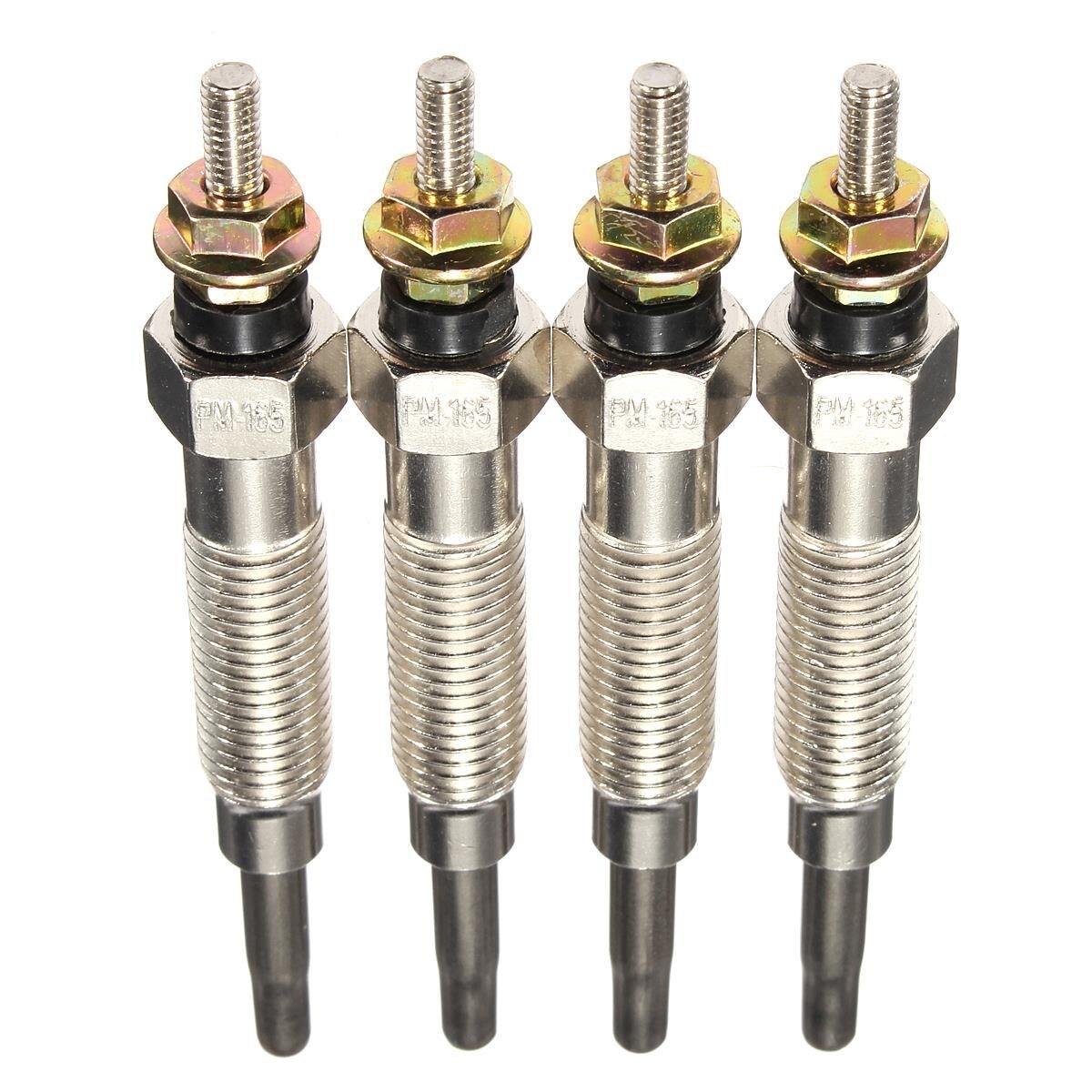 4 pçs/pçs/set calefator fulgor plugues para mitsubishi/shogun/pajero/2.8/4m40t/4m40/gp5501